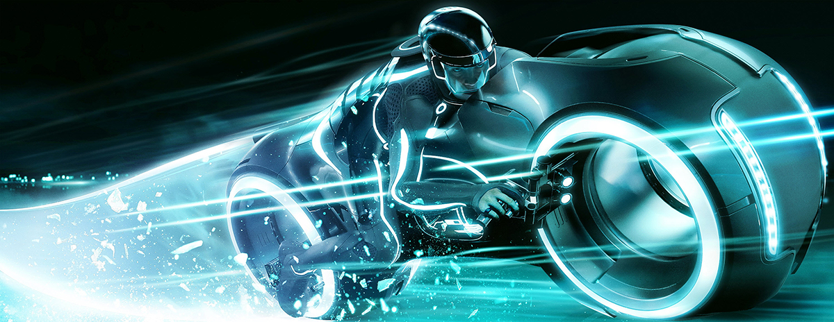 Tron Light Cycle-web
