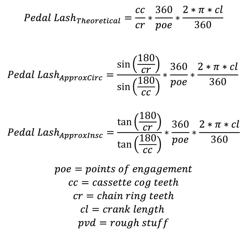 pedal-lash