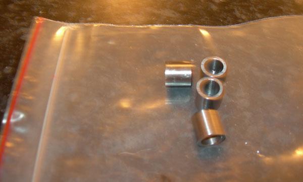Details about  /Bearing Spacer Skate Bearing Spacer Aluminium Alloy for Standard Skate Wheels